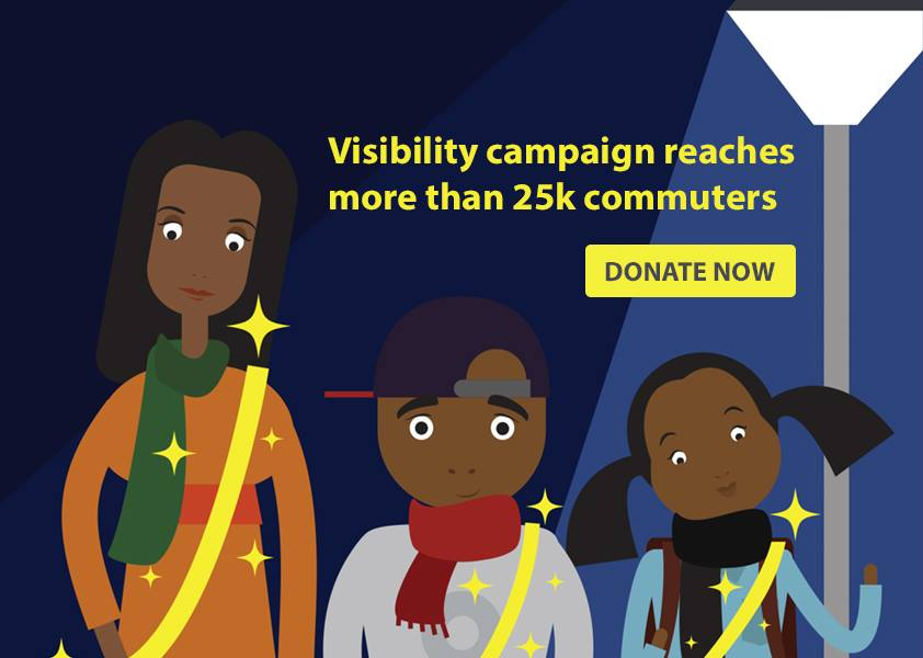 AA Press: Visibility campaign reaches 25k commuters