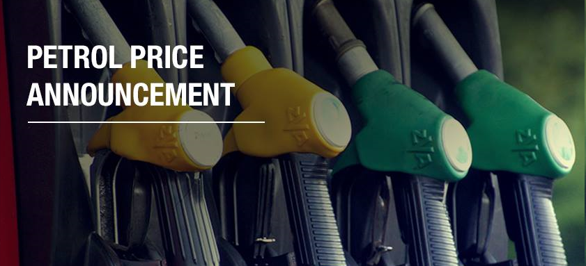 AA Press: Fuel price announcement