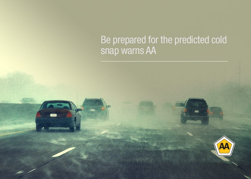 AA Press: Bad weather warning for drivers