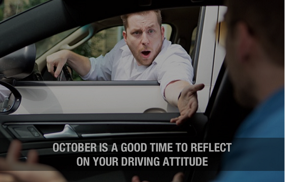 Reflect on your driving attitude this October