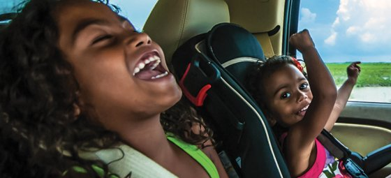 Child restraints are not a luxury, they're a necessity