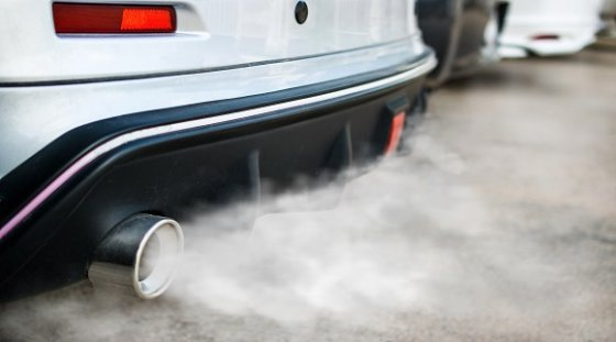 Exhaust smoke